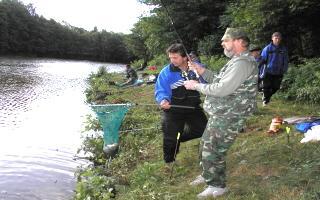 Rybářské závody Kejda 2003